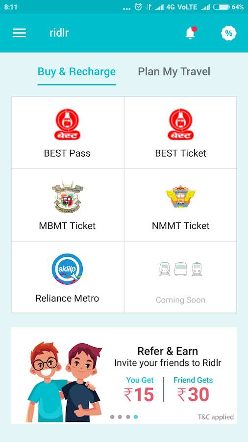 Mumbai Metro (SKIIIP) and BEST tickets and Passes- screenshot