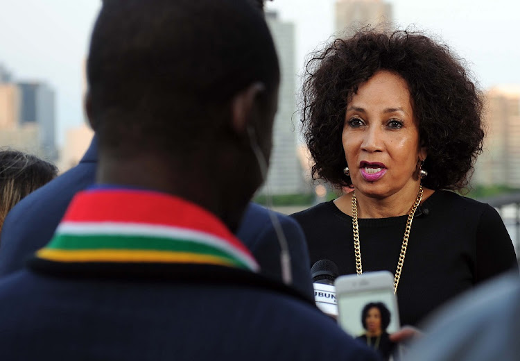 Department of International Relations and Cooperation Minister Lindiwe Sisulu.