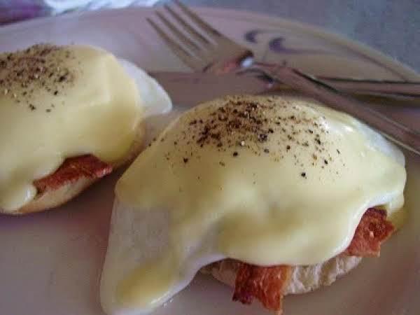 Untraditional Eggs Benedict
