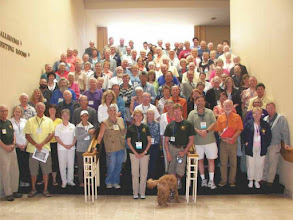 Photo: The AGLCA group picture. Can you find us?
