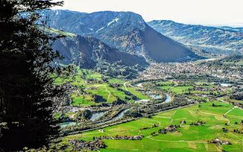 Photo: Gipfelblick vom Burgberger Hörnle (Kreuzle Spitz) zum Alpsee, Immenstadt und ins Illertal L-33 -  Infos: https://pagewizz.com/burgberger-hoernle-gruentenhaus-schwand-alpe-wandern-im-allgaeu/