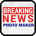 Breaking News Photo Maker icon