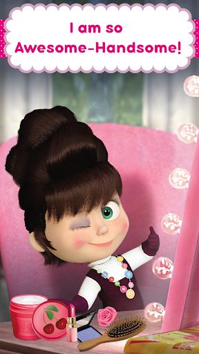 Masha and the Bear: Hair Salon and MakeUp Games 1.0.7 screenshots 6