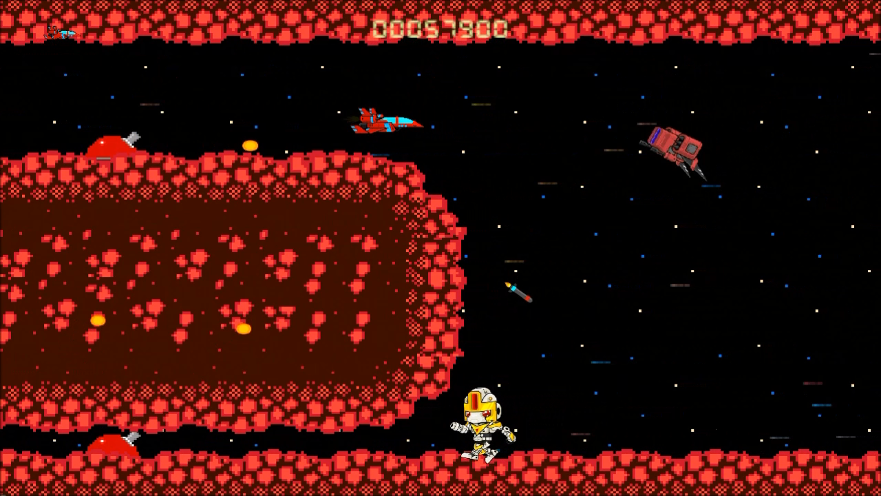 Super Arcade Boy in Defender of Planet Earth- screenshot