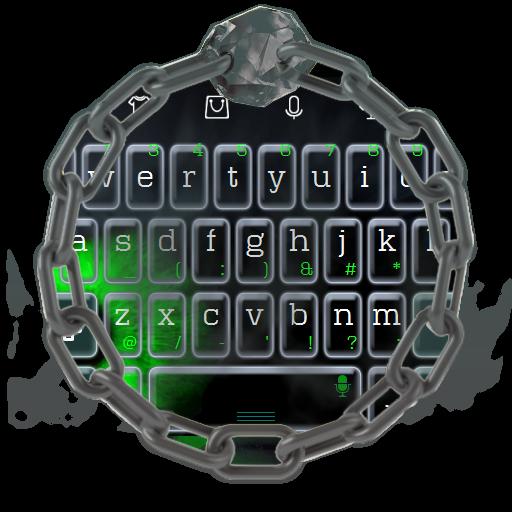 邪惡的綠眼睛 TouchPal 個人化 LOGO-玩APPs