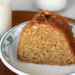 Whole Wheat Maple Cake.