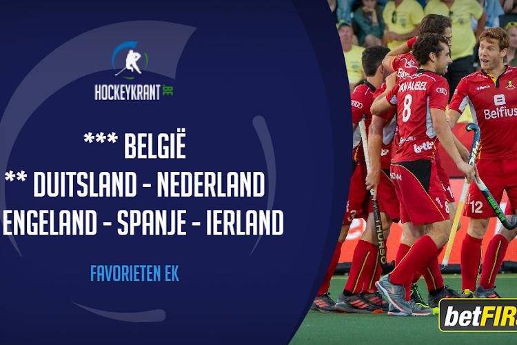 EK Hockey staat voor de deur: wat kunnen de Belgen (M/V) in eigen huis? Onze prognose!