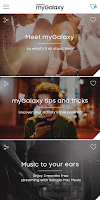 Screenshot of Samsung myGalaxy