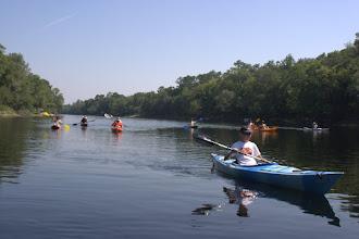 Photo: The SBA paddlers begin