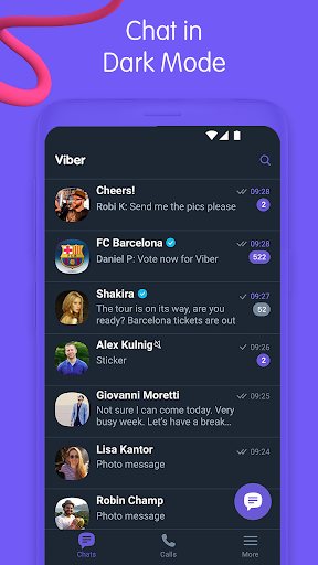 Viber Messenger - Messages, Group Chats & Calls 11.2.0.24 screenshots 1