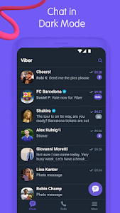 Viber Messenger - Messages, Group Chats & Calls 11.9.5.8