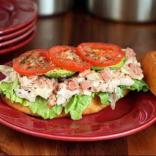 Toasted Turkey and Ham Sandwich.