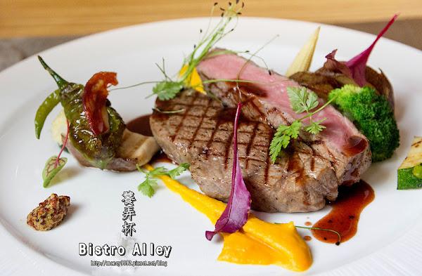 饕弄杯 Bistro Alley|肋眼牛|伊比利豬|北海道干貝|-台南東區 預約歐式小餐館,巷弄手作好料埋。