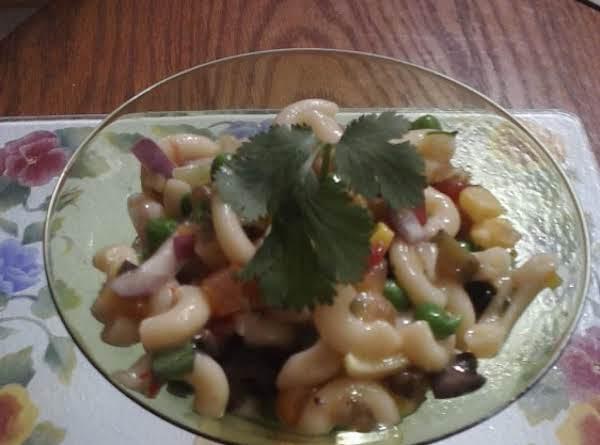 Orange Sweet & Sour Pasta Salad Recipe
