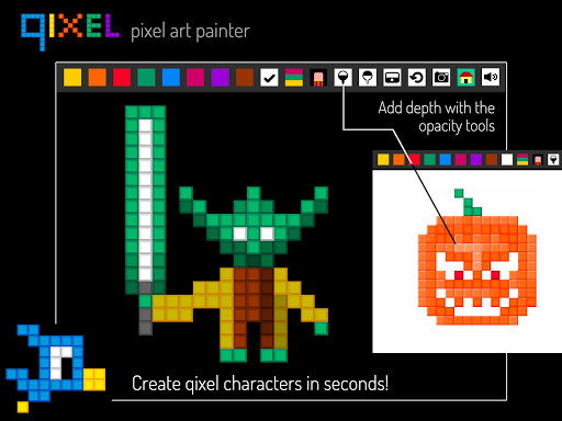 Qixel : Pixel Art Painter Free