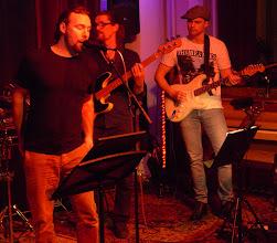 "Photo: Richard Tehler guesting FRENCH CONNECTION:  Drums: Tomas ""Daddy Tolsson"" / Vocals: Simon Lindenkrantz / Guitar: Henrik ""Pilen"" Pilquist / Bass: Michael Krönlein, Organ: Dan Helgesen"