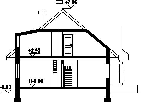 Chmielniki małe dw5 - Przekrój