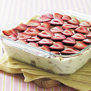 Strawberry-Banana Pudding