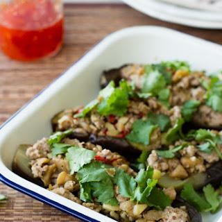 Szechuan Pork Eggplant