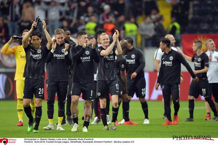 Après l'élimination à Chelsea, Francfort encaisse un autre coup dur en Bundesliga