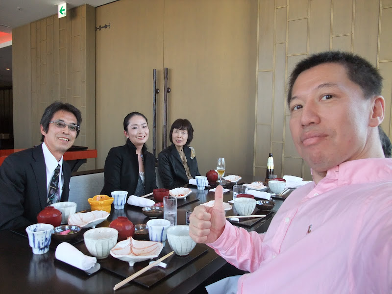 Photo: Had lunch with Takako's parents at a classy Japanese restaurant called Nadaman (なだ万).