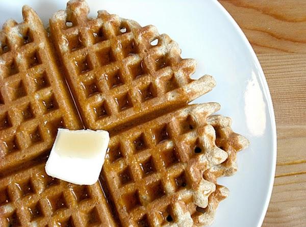 Mom's Crisp Whole Wheat Waffles Recipe