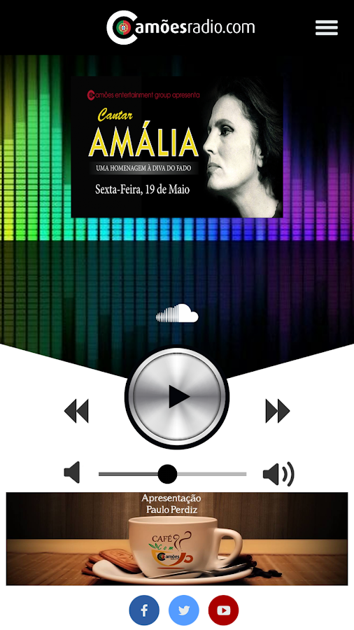 Camões Radio Station- screenshot