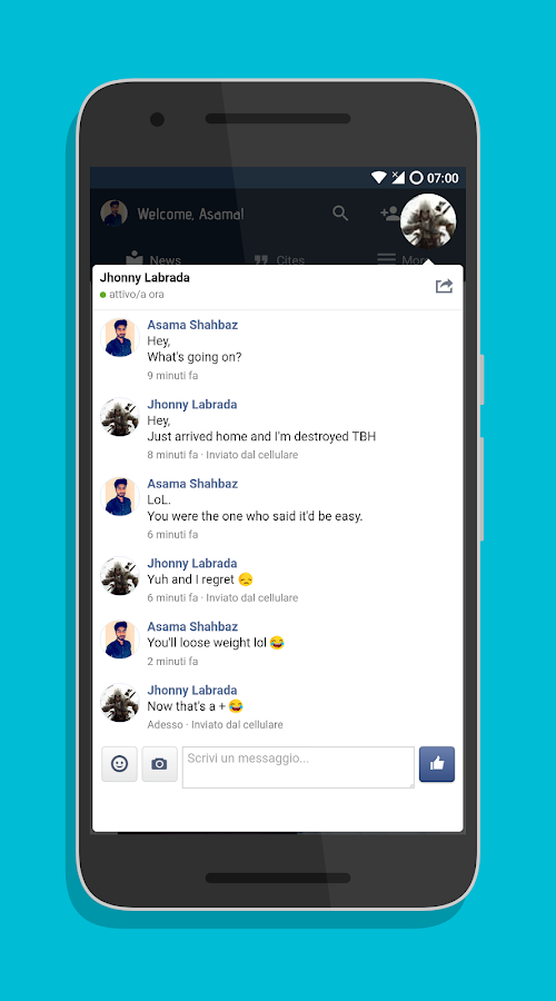 Phoenix - Facebook & Messenger- screenshot