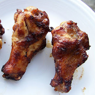 Oven Grilled Spicy Chicken Wings