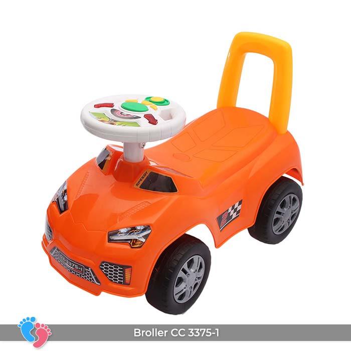Xe ô tô chòi chân cho bé Broller CC-3375-1 có nhạc 9