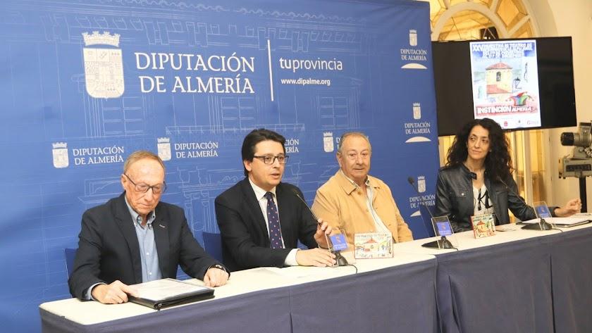 Imagen durante la presentación del programa en Diputación Provincial