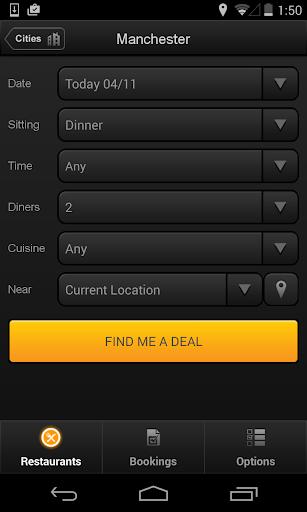 TableTonight - UK Dining Deals