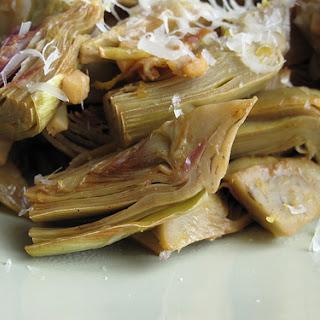 SautéEd Baby Artichokes Recipe