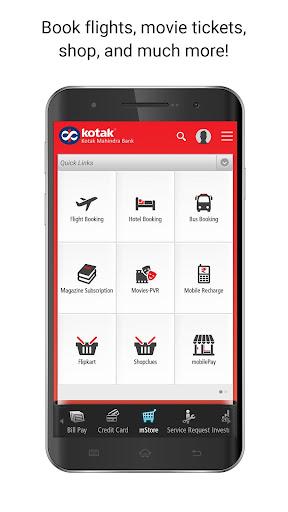 Kotak - 811 & Mobile Banking app (apk) free download for Android/PC/Windows screenshot