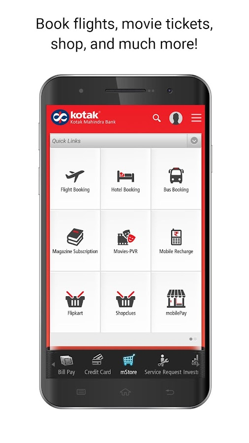 Kotak - 811 & Mobile Banking- screenshot