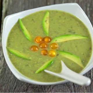 Dietary Avocado soup