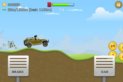 Up Hill Racing: Car Climb screenshot 3