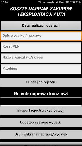 Niezbu0119dnik kierowcy - asystent 2.8 screenshots 5