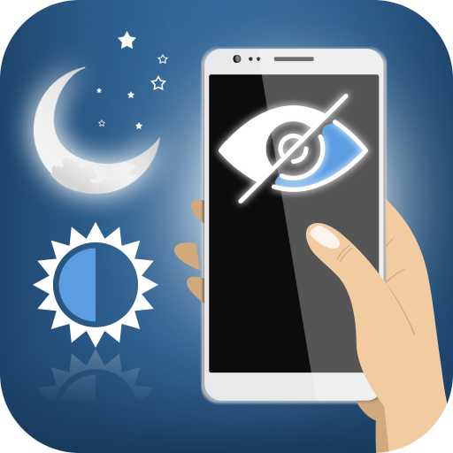 Half Moon Night Mode - Blue Light Filter