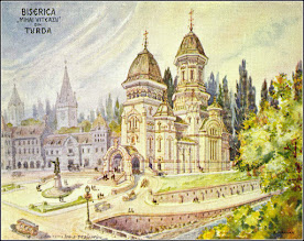 "Photo: Biserica ""Mihai Voda"", autor E. Marvan sursa, postcards http://postcards.hungaricana.hu/hu/225800/"