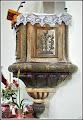 Photo: Biserica reformata -calvina din Turda Nouă - amvonul - sursa R.C