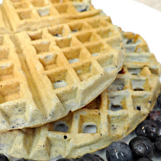 Easy Blueberry Waffles Recipe!