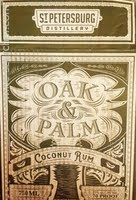Logo for Oak & Palm Coconut Rum