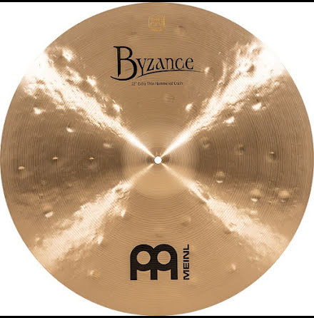 "22"" Meinl Byzance Extra Thin Hammered Crash - B22ETHC"