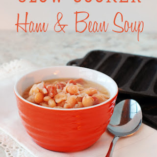 Slow Cooker Ham and Bean Soup aka Soup Beans.