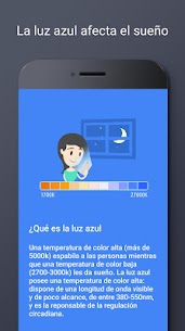 Filtro de Luz Azul – Modo Noche, Protector de Ojos 6