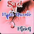 Sad Hate Quote in hindi