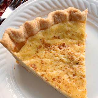 Old Fashioned Custard Pie.