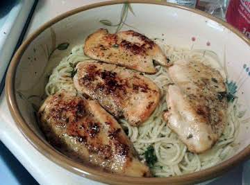 Super Lemon Chicken and Pasta