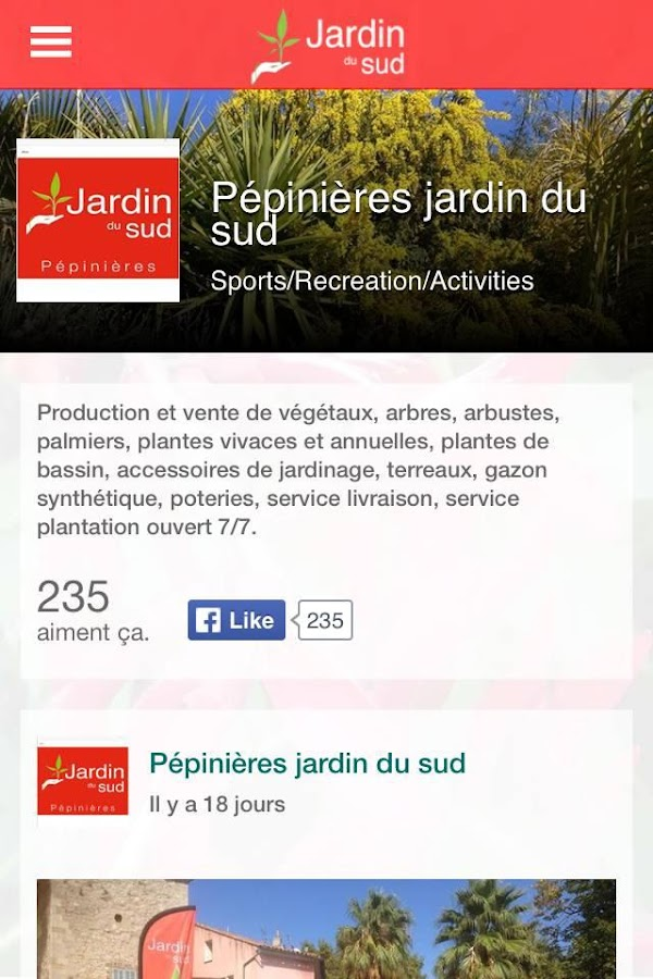 Jardin du sud android apps on google play for Google jardin